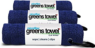 Greens Towel Microfiber (3 Pack), 16