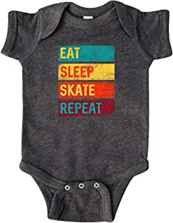 Skating Eat Sleep Skate Repeat Infant Creeper