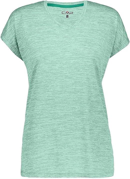 CMP Damen Melange Print T-Shirt Funktionsshirt Sport Training