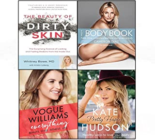 Beauty of dirty skin,everything [hardcover],body book,pretty happy 4 books collection set