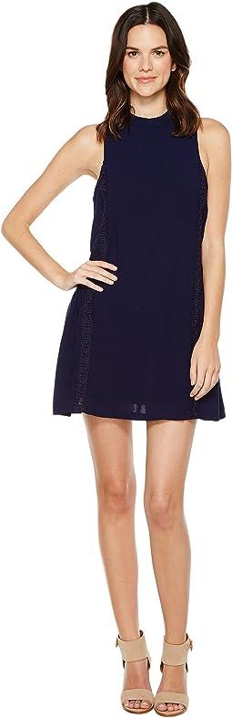 Brigitte Bailey - Adler Sleeveless Dress with Crochet Detail
