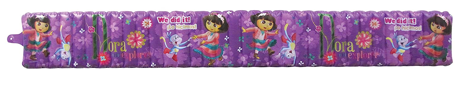 Nickelodeon Dora The Explorer Inflatable Safety Bathtub Bumpers, Purple