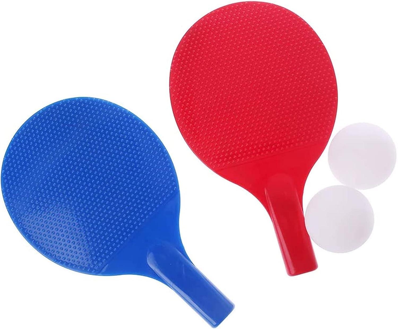 ZFQZKK Raqueta de Tenis de Mesa de plástico Caliente Juguetes para niños Entretenimiento de Fitness Ping Pong Paddle Juego de Ping Pong