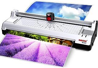 comprar comparacion Plastificadora A3 A4, DINOKA Máquina de Laminadora con Cortador de papel y Redondeador de esquina, ABS Función incorporada...