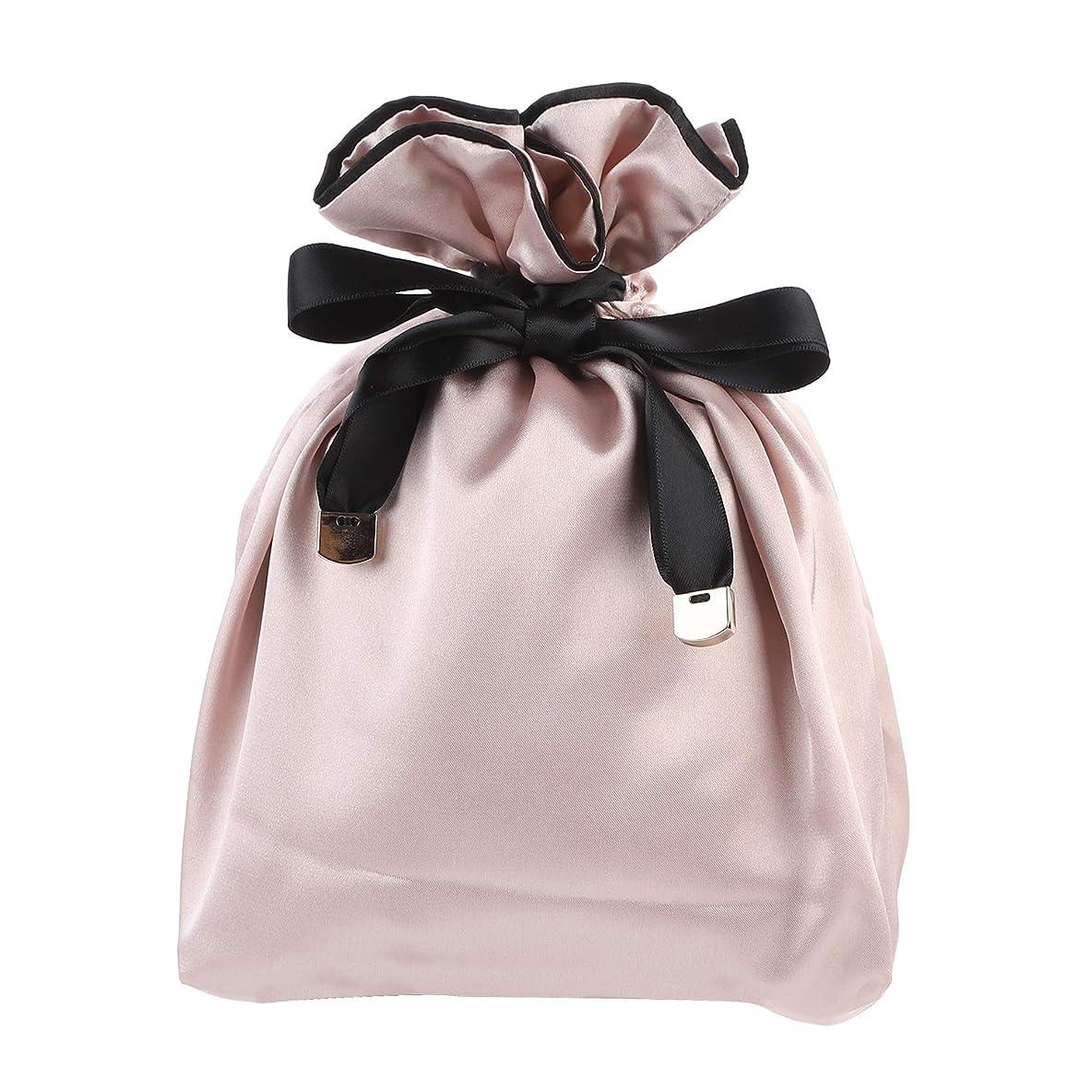 怒り倫理的ニュースNEOVIVA 巾着 袋 女の子 化粧品ポーチ 小物入れ スベスベ 旅行 ギフト ピンク 巾着袋だけ