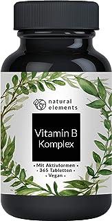 Vitamin B Komplex – 365 Tabletten – Mehrfacher Sieger 2020/2019* –..