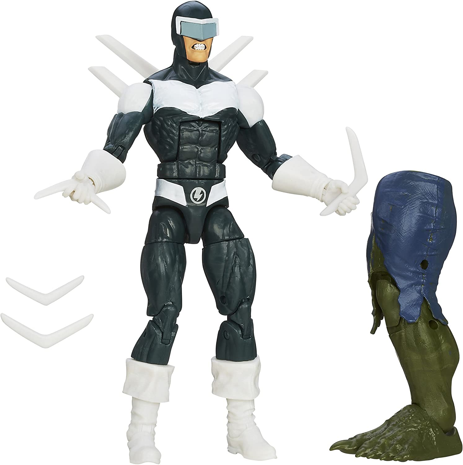 SpiderMan Marvel The Amazing 2 Marvel Legends Infinite Series Deadliest Foes Action Figure Boomerang, 6 Inches