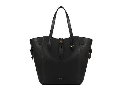Furla Net Large Tote (Nero) Handbags