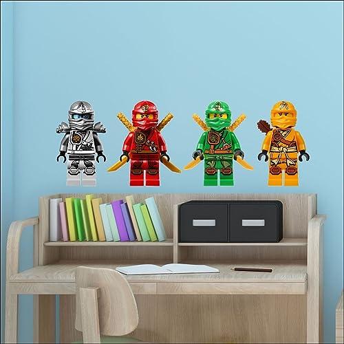 Fine Lego Wall Decals Amazon Co Uk Download Free Architecture Designs Scobabritishbridgeorg