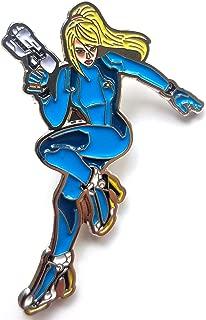 Zero Suit Samus Aran - Metroid Pin