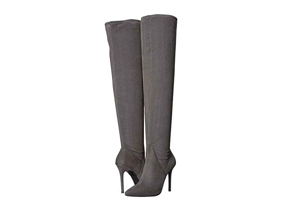 Jessica Simpson Loring (Really Grey Stretch Microsuede) Women