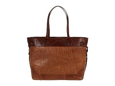 Frye Melissa Large Carryall (Beige Multi) Handbags