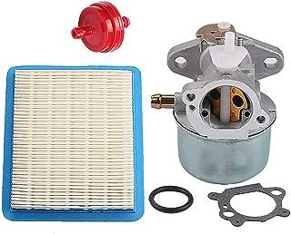 Harbot 799869 792253 Carburetor + 491588S Air Filter for Briggs & Stratton 497586 499059