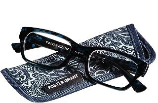 Foster Grant Mira Blue Women's Reading Glasses, 2.50