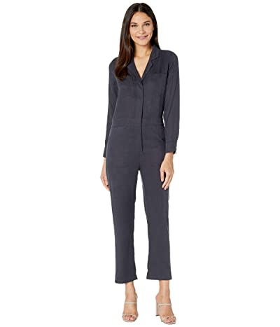 BB Dakota Next in Line Lyocell Boiler Suit (Charcoal Grey) Women