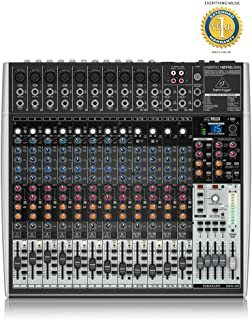 Behringer XENYX X2442USB Premium 24-Input 4/2-Bus Mixer with 1 Year EverythingMusic Extended Warranty Free