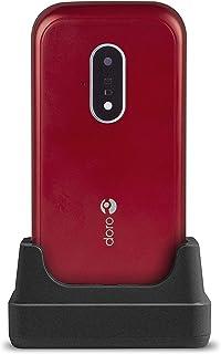 Doro 7030 – 4G mobiltelefon i elegant vikbar design (3 MP kamera, 2,8 tum (7,11 cm) skärm, LTE, GPS, Bluetooth, WhatsApp, ...