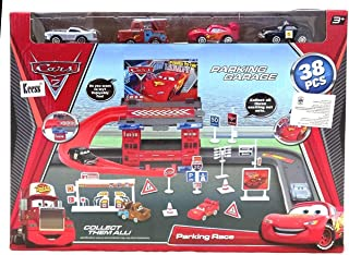 cars Parking Garage 38 Pieces for Boys