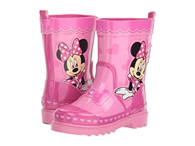 Josmo Kids Minnie Rain Boot (Toddler/Little Kid) (Pink) Girls Shoes