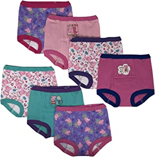 Girls' Toddler 7k Potty Training Pant, Peppa Assorted, 4T