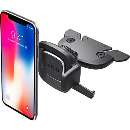 iOttie Easy One Touch 4 CD Slot Car Mount Phone Holder, For IPhone, Samsung, Moto, Huawei, Nokia, LG, Smartphones