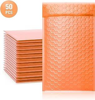 Best peach bubble mailers Reviews