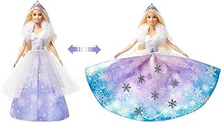Barbie, Dreamtopia Księżniczka Lodowa Magia W Sukni Z Przemianą GKH26