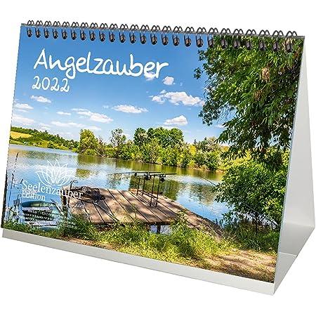 Calendrier Peche 2022 Angelzauber Calendrier de table DIN A5 pour pêche et pêche 2021