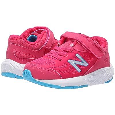 New Balance Kids KV519v1I (Infant/Toddler) (Pomegranate/Vortex) Girls Shoes