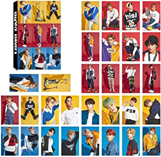 Youyouchard Kpop NCT127 NCT U Photo Card Poster Lomo Cards Self Made Paper HD Photocard Fans Gift Collection, 30PCS/Set