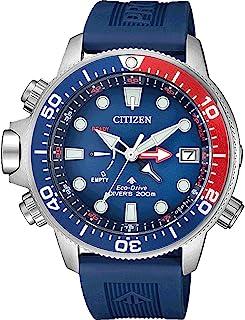 Citizen - Reloj Analógico para Hombre de con Correa en Caucho BN2038-01L