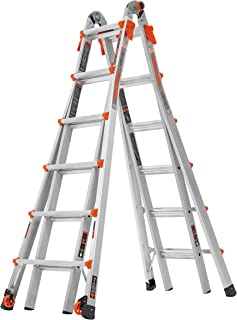 Little Giant Ladder Systems 15426-001 26 Ladder, en_US Feet with Wheels