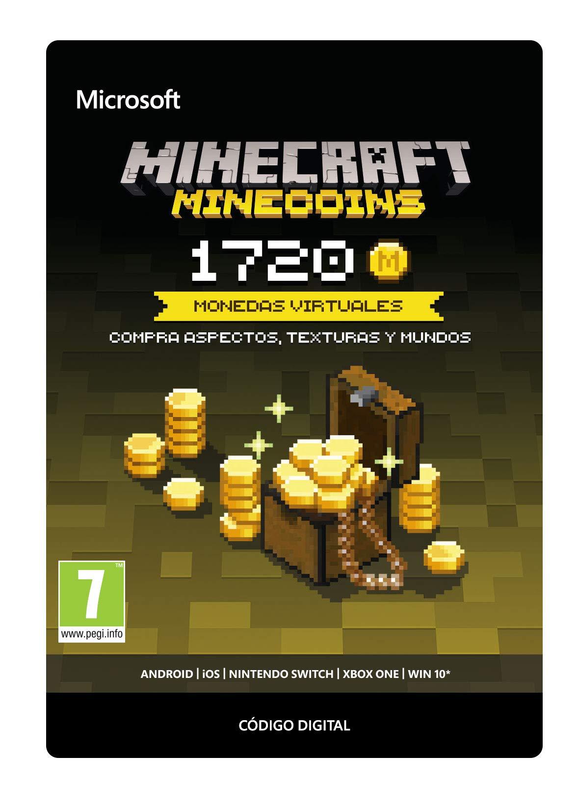 Minecraft - Minecoins Pack: 1720 Monedas, Xbox One, Online Game Code: Amazon.es: Videojuegos