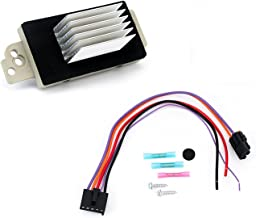Blower Motor Resistor Complete Kit with Harness - Replaces 15 81773, 89018778, 89019351, 1581773, 15-81773 - Fits Chevy Silverado, Tahoe, Suburban, GMC Sierra, Yukon XL - AC Heater Control Module