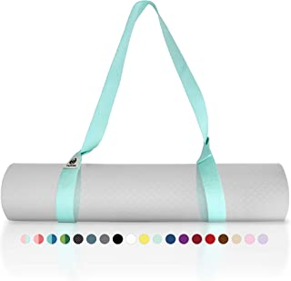 Tumaz Yoga Mat Strap [MAT NOT Included] (15+ Colors, 2 Sizes Options) with Extra Thick,..