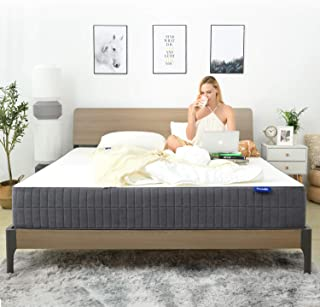 King Mattress, Sweetnight 10 Inch Gel Memory Foam Mattress in a Box, CertiPUR-US Certified Foam Mattresses for Sleep Cool & Supportive, Flip Available for Soft or Medium Firm Option, King Size