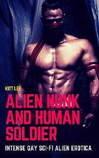 Alien Hunk and Human Soldier: Intense Gay Sci-fi Alien Erotica