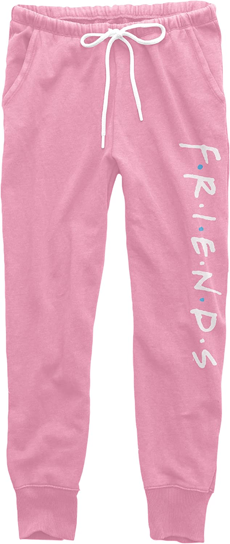 FRIENDS Women's Jogger Pants, Comfortable Jogger Sweatpants Logo