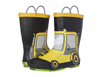 Western Chief Kids Tractor Rain Boots (Toddler/Little Kid/Big Kid) (Yellow) Boy
