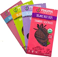 product image for Peaceful Fruits 100% Fruit Strips (Variety pack (strawberry, acai, passionfrt, apple), 12 count)