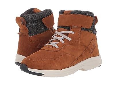 Jack Wolfskin Kids City Bug Texapore Mid (Toddler/Little Kid/Big Kid) (Desert Brown/Champagne) Boys Shoes