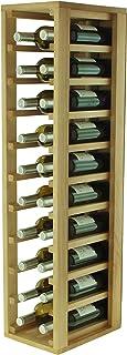 comprar comparacion Expovinalia Botellero de Madera, Roble, 24 x 32 x 105 cm