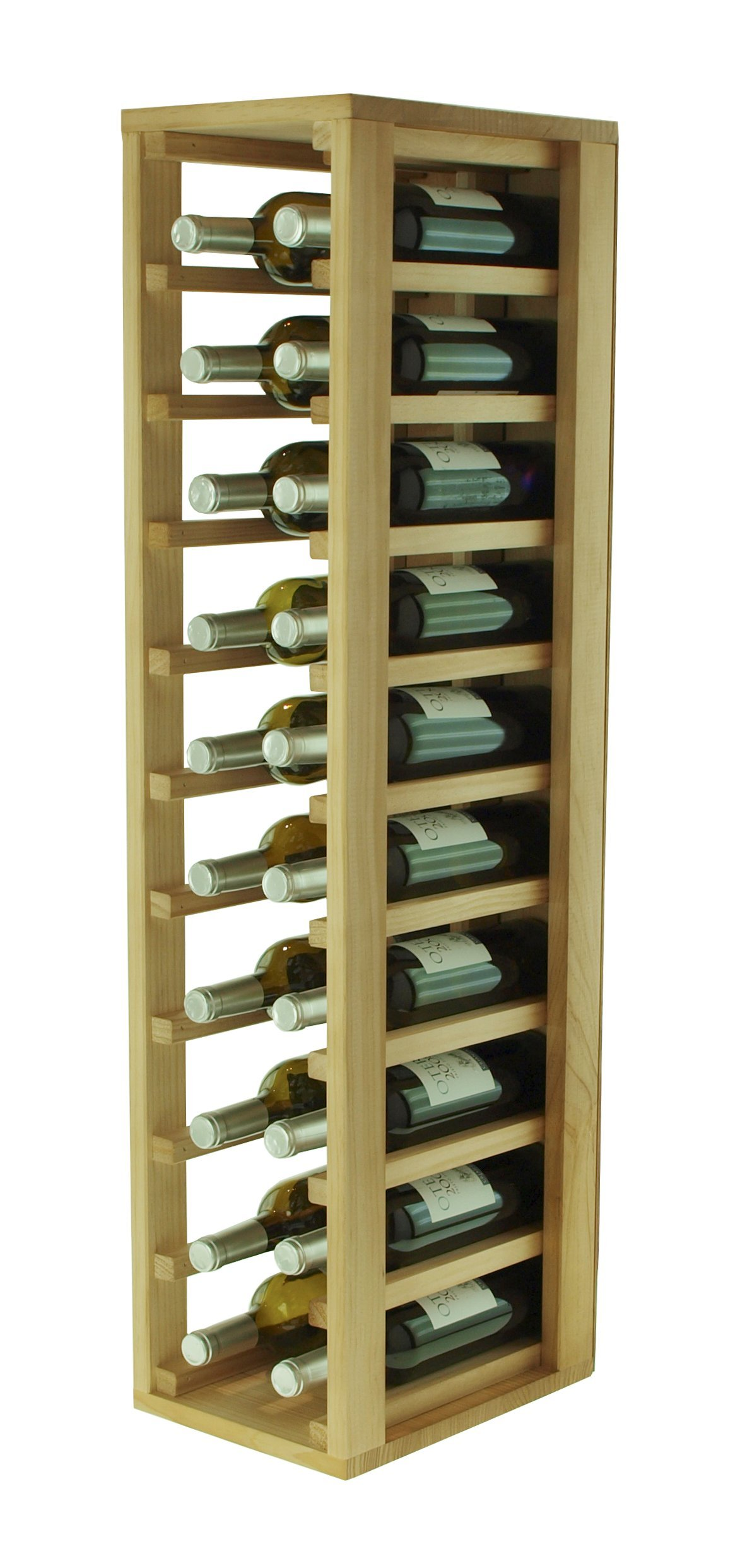 Expovinalia Wine Rack Oak Wood 24/x 32/x 105/cm