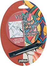 Pebeo Vitrail, Self-Adhesive Lead Strip for Stained Glass Effect