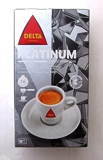 DELTA PLATINIUM Espresso ESE Pods / Servigs - 2 x 16 = 32 ESE pods