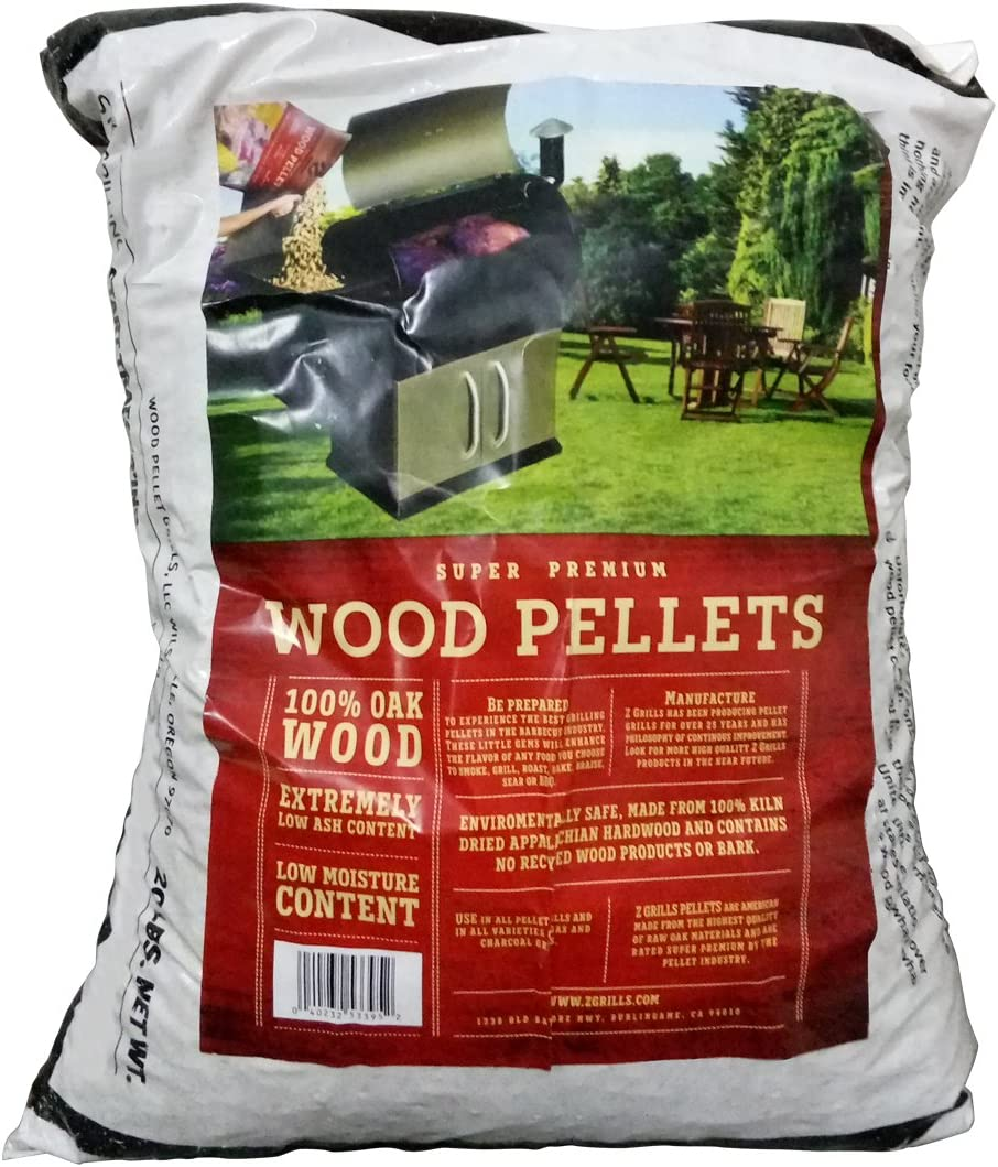 Z GRILLS Premium BBQ Wood Pellets for Grilling Smoking Cooking