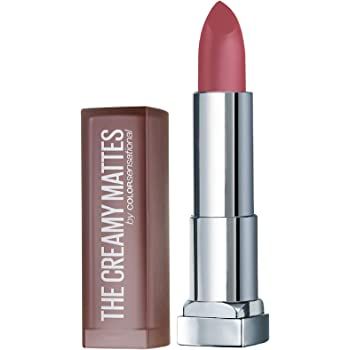 Maybelline New York Color Sensational Creamy Matte Lipstick, Chilli Nude, 3.9g