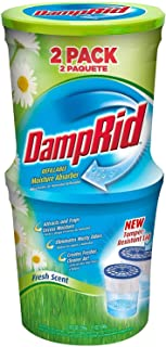 DampRid FG60FS Moisture Absorber, Fresh Scent, 10.5-Ounce, 4-Pack
