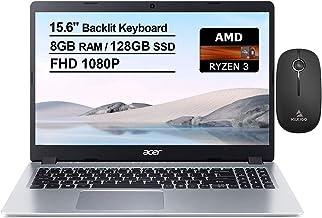 2020 Acer Aspire 5 15.6 Inch FHD 1080P Slim Laptop| AMD Ryzen 3 3200U up to 3.5 GHz| 8GB RAM| 128GB SSD| Backlit KB| WiFi|...