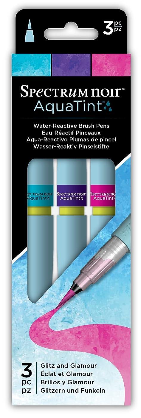 Spectrum Noir SPECN-AQTNT-GLIT3 Glitz & Glamour Artist Pen Set Multicolor
